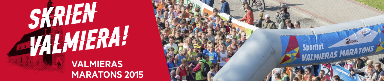Valmieras maratons 2015