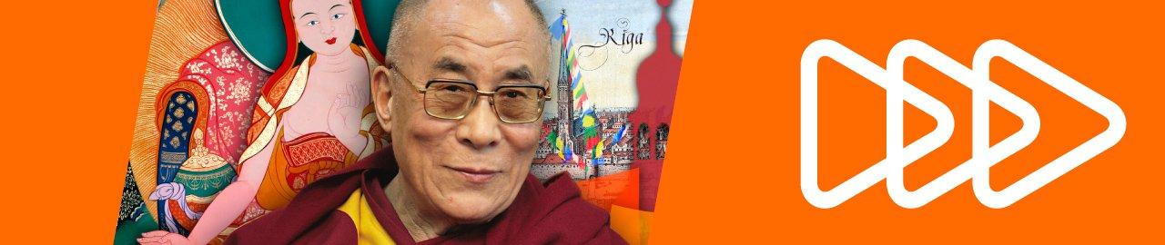 Dalailama Rīgā