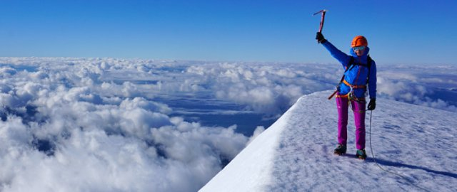 Ceļā uz kalnu virsotnēm