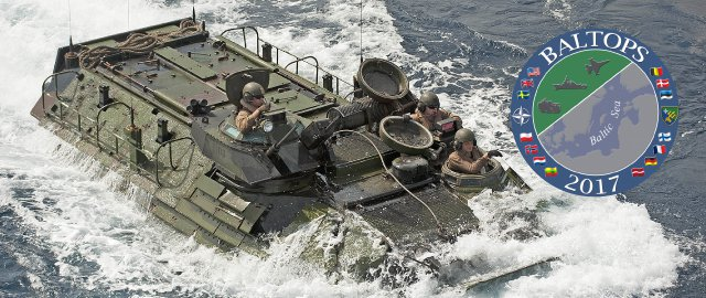 Amfībiju desanta operācija no USS Arlington