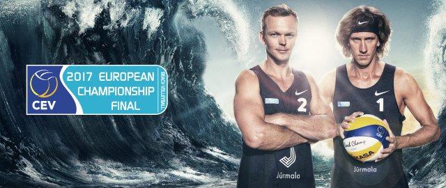 Eiropas čempionāta fināls pludmales volejbolā