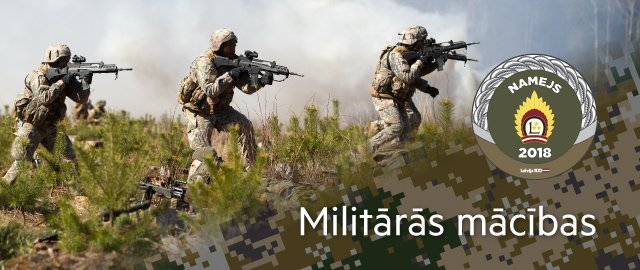 Militārās mācības NAMEJS 2018