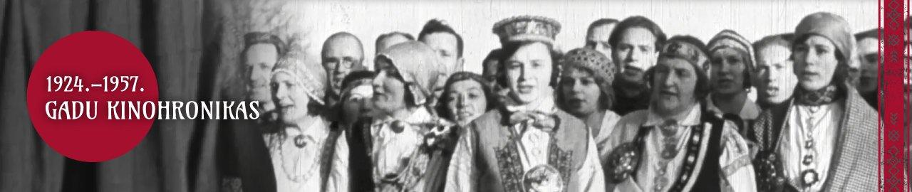 1924.-1957. gadu kinohronikas