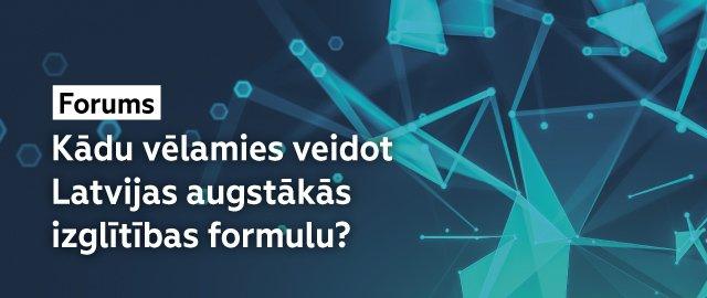 Latvijas augstākās izglītības formula