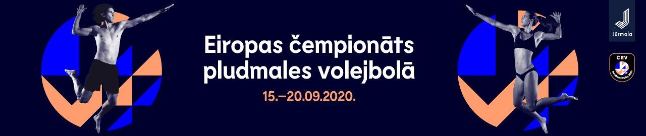 Eiropas čempionāts pludmales volejbolā | Jūrmala 2020